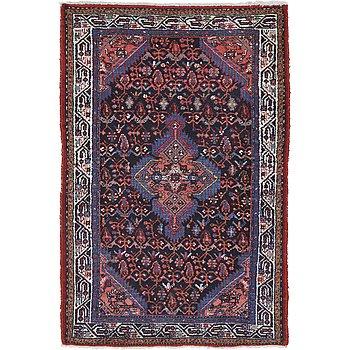 A rug, Hamadan/Serabend ca 169 x 113 cm.
