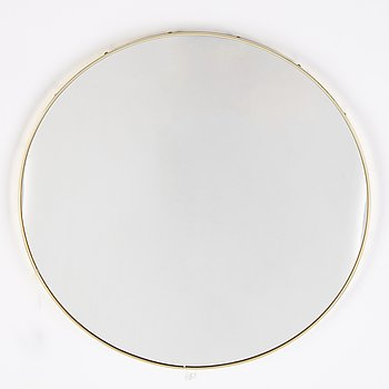A round mirror, second half of the 20th Century.