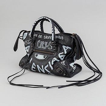 """BALENCIAGA, """"Grafitti City Bag"""","""