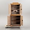 A 18th centry pine cabinet.