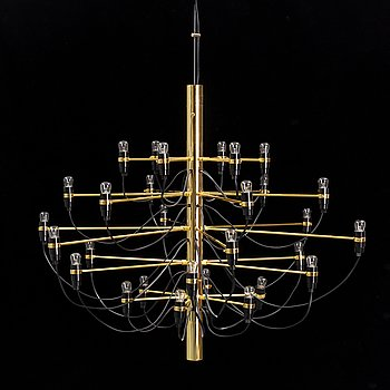 A model '2097/30' ceiling light by Gino Sarfatti for Flos, Italy.