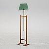 A floor lamp, model 2458, designed by josef frank in 1952 for frima svenskt tenn.