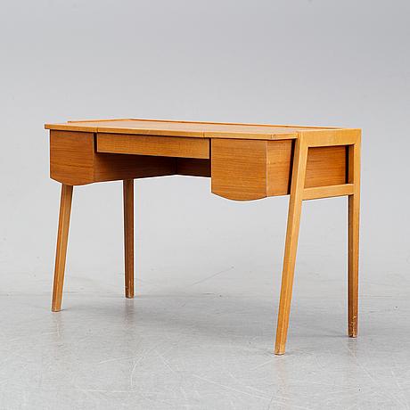 A 1960's teak dressing table.