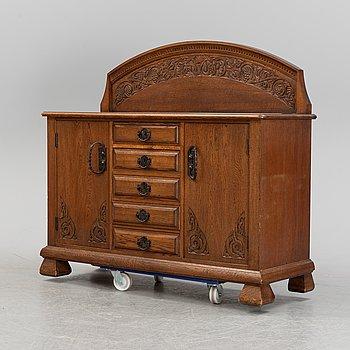 An Art Nouveau cabinet, late 19th century.