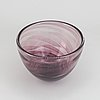 Edward hald, a signed slipgraal glass vase from orrefors.