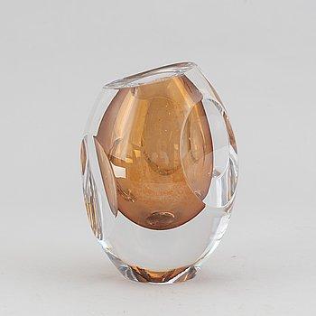 Mona Morales-Schildt, a 'Ventana' glass vase, Kosta.