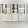 "Göran malmvall, display cabinet, 3 bookshelves, ""ka72"", karl andersson & söner."