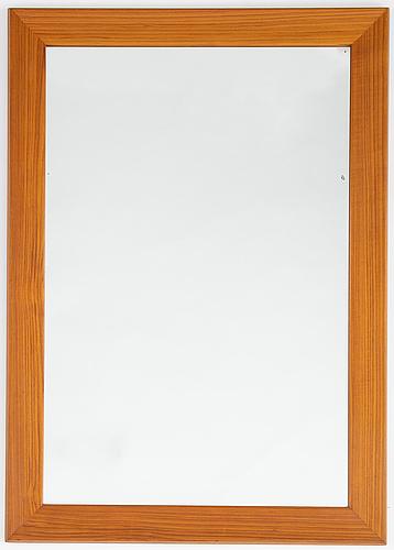 """A 1950's-60's """"rakel"""" mirror from fröseke ab nybrofabriken."""