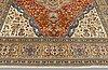 A carpet, figural tabriz so called tabatabai, ca 390 x 268 cm.