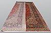 A carpet, kashan, 515 x 302 cm.