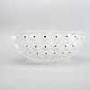 Lalique, a 'nemours' glass bowl, france 20th century latter part.