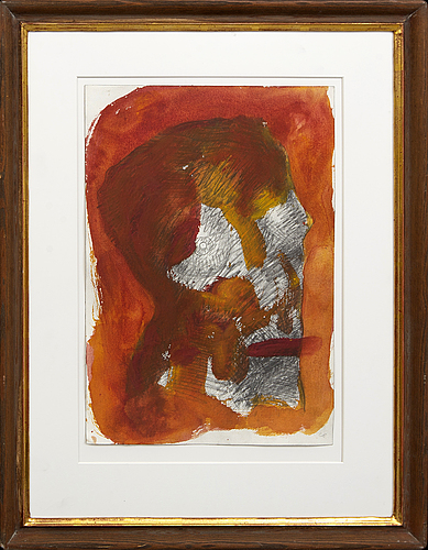 Claes eklundh, mixed media on paper.