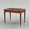 A late gustavian style writing desk, 20th century.
