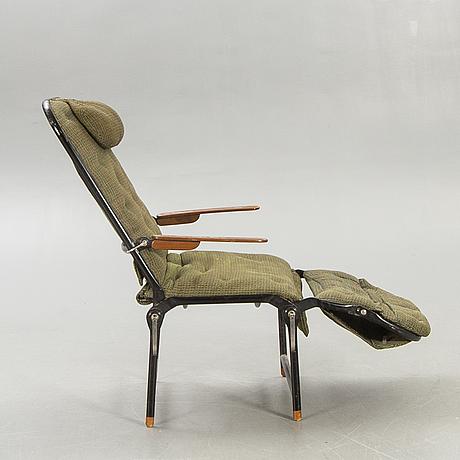 "C edvard lundquist, recliner ""vilosov"" lundquist and tesch ab, 1940s / 50s."