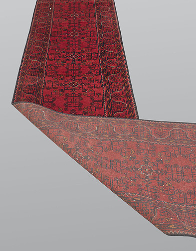 Gallerimatta, afghan s.k khan mohammadi, ca 486 x 79 cm.