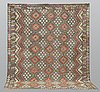 A carpet, kilim, kelim, ca 293 x 254 cm.