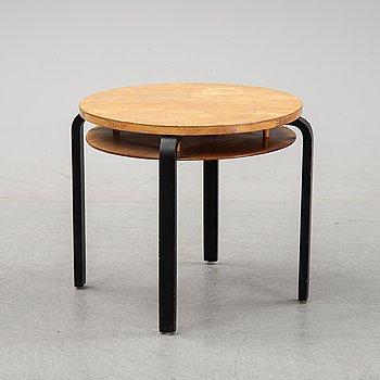 A birch model 70 coffee table, O.y Huonekalu-ja Rakennustyötehdas A.B for Artek, Finland.