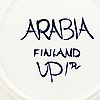 "Ulla procopé, teservis, 18 delar, porslin, ""valencia"", arabia, finland."