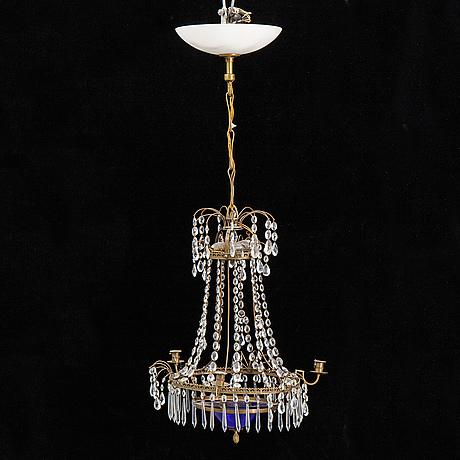 Ljuskrona, sengustaviansk stil, 1900-talets första hälft.