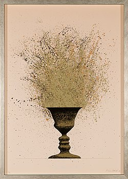 Kimmo Kaivanto, silkscreen, signed and dated -87, numbered 23/25.