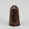 Carl-harry stålhane,  a unique stoneware vase, rörstrand 1960.