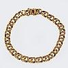 Armband 18k guld bismarcklänk, 20,3 g, ca 20 x 0,7 cm.