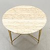 A mid 1900s/second half marble coffee table.