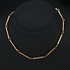 Necklace 18k gold, 26,8 g, approx 39 cm.
