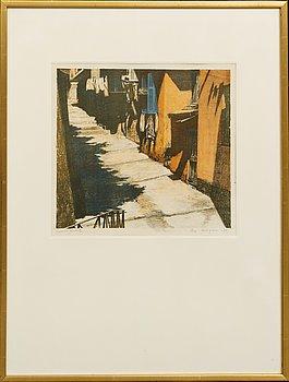 Ola Billgren, color lithograph, signed -68 EA.