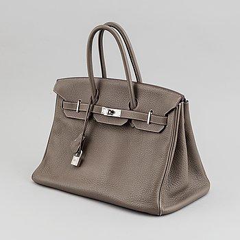 """Hermès, väska, """"Birkin 35"""", 2009."""