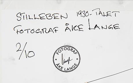 Åke lange, efter, c-print, 2/10.