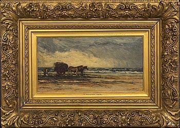Collin Hunter, oil on canvas.