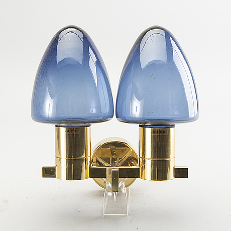 Hans-agne jakobsson, wall lamp, markaryd, second half of the 20th century.