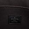Louis vuitton, a black epi 'madeleine pm' handbag, 2011.