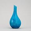 Hans hedberg, a ceramic vase from biot, france, signed hhg.