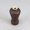 A stoneware vase by anders bruno liljefors, gustavsberg studio.