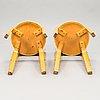 Alvar aalto, pöytä, malli 90, ja tuoleja, 4 kpl, malli 66 artek 1900-luvun puoliväli.