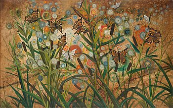 Tapio Soukka, oil on canvas, signed and dated -76.