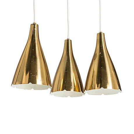 Paavo tynell, a 1950's '1994/3' pendant light for taito, finland.