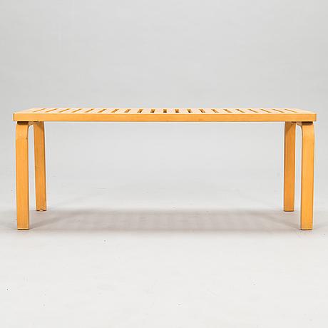 Alvar aalto, a late 20th century '153a' bench for artek.