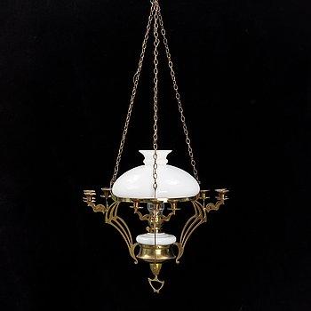 Takfotogenlampa, jugend, 1900-talets början.
