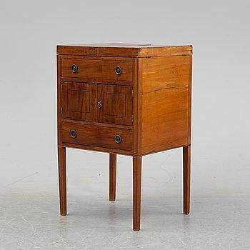 A mahogany lavoir, England, 19th century.