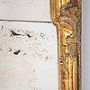 A gilt rococo mirror, second half of the 18th century.