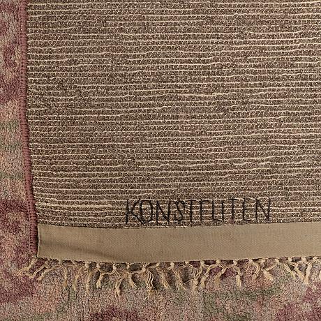 Konstfliten, a carpet, a flossa variant, ca ca 428 x 280,5 cm, gothenburg.