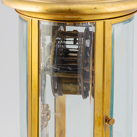 An early 20th century table clock from japy frères.