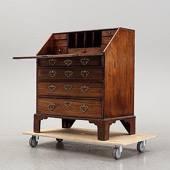 A 18th Century mahogany secretaire.