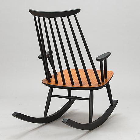 A 1950s rocking chair for varjosen puukaluste, finland.