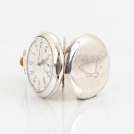 Halda, pocket watch, 51 mm.