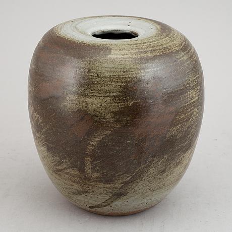 Carl-harry stålhane, a 1980's stoneware vase.