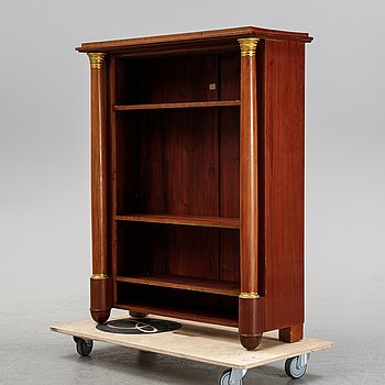 An early 20th century empire-style bookcase.